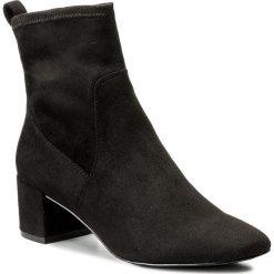 Botki ALDO - Stefi-N 52399914 98. Czarne buty zimowe damskie ALDO, z materiału, na obcasie. W wyprzedaży za 229,00 zł.