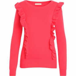 Czerwony Sweter Hold You. Czerwone swetry klasyczne damskie Born2be, na jesień, l. Za 29,99 zł.