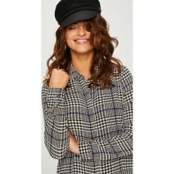 Answear - Koszula Femifesto. Szare koszule damskie marki ANSWEAR, l, z elastanu, casualowe, z długim rękawem. W wyprzedaży za 99,90 zł.