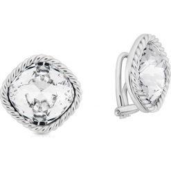 Biżuteria i zegarki: Klipsy Srebrne – srebro 925, Cyrkonia