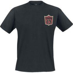 T-shirty męskie z nadrukiem: Lucky 13 Custom Clean T-Shirt czarny