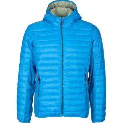Kurtki męskie: Kurtka zimowa w kolorze niebieskim