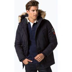 Superdry - Kurtka męska, niebieski. Szare kurtki męskie marki Superdry, l, z tkaniny, z okrągłym kołnierzem, na ramiączkach. Za 849,95 zł.