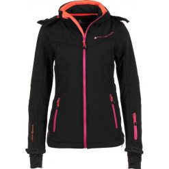 Odzież damska: Kurtka softshellowa w kolorze czarno-różowym