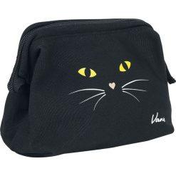 Torebki i plecaki damskie: Vans Done Up Case Black Cat Kosmetyczka czarny/żółty