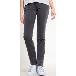Mustang SISSY SLIM  Jeansy Slim Fit black vintage wash. Niebieskie jeansy damskie marki Mustang, z aplikacjami, z bawełny. Za 269,00 zł.