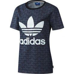 Bluzki asymetryczne: Adidas Koszulka damska Track Denim Tee granatowa r. M  (AJ7197)