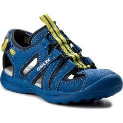 Sandały GEOX - J Vaniett B. A J825XA 015CE C4344 S Royal/Lime. Niebieskie sandały męskie skórzane marki Geox. Za 219,00 zł.