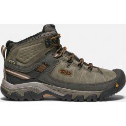 Buty trekkingowe męskie: Keen Buty męskie TARGHEE III MID WP Black Olive/ Golden Brown  r. 41 (1017787)