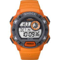 Biżuteria i zegarki męskie: Zegarek Timex Męski Expedition TW4B07600 Shock Resistant pomarańczowy