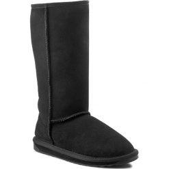 Buty EMU AUSTRALIA - Stinger Hi W10001 Black 2015. Czarne buty zimowe damskie marki EMU Australia, ze skóry. Za 859,00 zł.