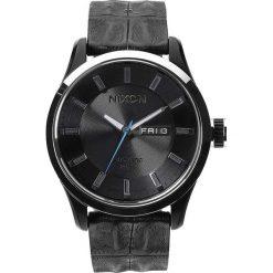 Zegarki męskie: Zegarek męski Black Gator Nixon Automatic Leather A3781886