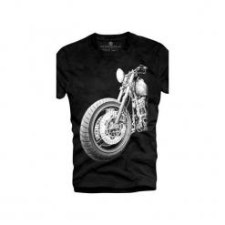 T-shirt UNDERWORLD Ring spun cotton Motor. Szare t-shirty męskie z nadrukiem marki Underworld, m, z bawełny. Za 59,99 zł.