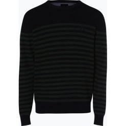 Andrew James Sailing - Sweter męski, niebieski. Niebieskie swetry klasyczne męskie Andrew James Sailing, m, w paski, z bawełny. Za 169,95 zł.