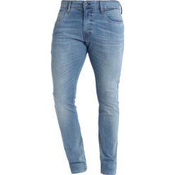 GStar 3301 DECONSTRUCTED SKINNY Jeans Skinny Fit medium vintage aged. Niebieskie rurki męskie marki G-Star, z bawełny. Za 469,00 zł.