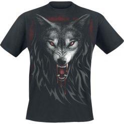 Spiral Legend Of The Wolves T-Shirt czarny. Czarne t-shirty męskie z nadrukiem Spiral, s, ze skóry, z dekoltem na plecach. Za 54,90 zł.