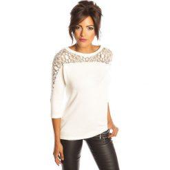 """Bluzki damskie: Koszulka """"Colette"""" w kolorze białym"""