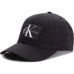 Czapka z daszkiem CALVIN KLEIN JEANS - J Monogram Cap M K40K400752 016. Czarne czapki z daszkiem męskie marki Calvin Klein Jeans, z bawełny. Za 159,00 zł.