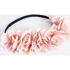 Ozdoby do włosów: Gumka do włosów z kwiatami - Różowy