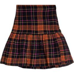 Sonia Rykiel JUPE A CARREAUX Spódnica z zakładką multicolor. Brązowe spódniczki dziewczęce marki Sonia Rykiel, z materiału. W wyprzedaży za 351,20 zł.