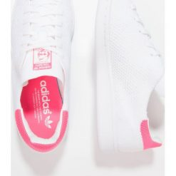 Adidas Originals STAN SMITH PK Tenisówki i Trampki footwear white/ultra pop. Białe tenisówki damskie adidas Originals, z materiału. W wyprzedaży za 366,75 zł.