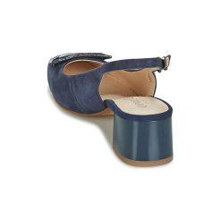 Sandały Caprice  MOAH. Niebieskie sandały damskie Caprice. Za 279,20 zł.