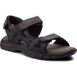 Sandały męskie skórzane: Sandały LASOCKI FOR MEN – MI07-A644-A505-06 Granatowy