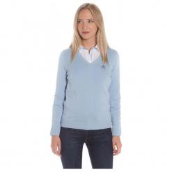 Polo Club C.H..A Sweter Damski Xl Jasnoniebieski. Szare swetry klasyczne damskie marki Polo Club C.H..A, xl, dekolt w kształcie v. W wyprzedaży za 239,00 zł.
