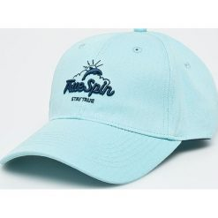 True Spin - Czapka Dolphins. Szare czapki z daszkiem damskie marki True Spin, z bawełny. W wyprzedaży za 49,90 zł.