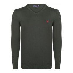 Giorgio Di Mare Sweter Męski Xxl Khaki. Brązowe swetry klasyczne męskie marki Giorgio di Mare, m, z bawełny. W wyprzedaży za 169,00 zł.