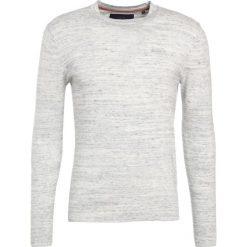 Swetry klasyczne męskie: Superdry ORANGE LABEL CREW Sweter concrete grindle