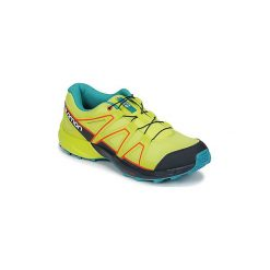 Buty Dziecko Salomon  SPEEDCROSS J. Szare buty sportowe chłopięce marki Salomon, z gore-texu, na sznurówki, outdoorowe, gore-tex. Za 263,20 zł.