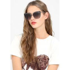 KARL LAGERFELD Okulary przeciwsłoneczne shiny gunmetal. Szare okulary przeciwsłoneczne damskie lenonki marki KARL LAGERFELD. W wyprzedaży za 567,20 zł.