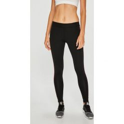 Guess Jeans - Legginsy. Czarne jegginsy damskie marki bonprix, z podwyższonym stanem. Za 199,90 zł.