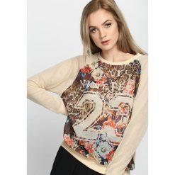 Bluzy damskie: Beżowa Bluza Count