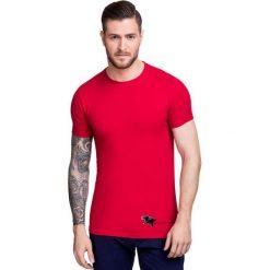T-shirt NICODEMO TSTS000013. Czerwone t-shirty męskie Giacomo Conti, na lato, m, z bawełny. Za 79,00 zł.