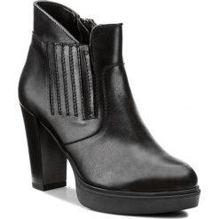 Botki SERGIO BARDI - Coreggio FW127269817DP 101. Czarne buty zimowe damskie Sergio Bardi, ze skóry. W wyprzedaży za 209,00 zł.