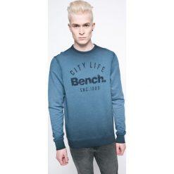 Bench - Bluza. Szare bluzy męskie rozpinane marki Bench, l, z nadrukiem, z bawełny. W wyprzedaży za 119,90 zł.