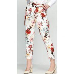 Białe Spodnie Switch Over. Czarne spodnie z wysokim stanem marki Born2be, l. Za 84,99 zł.