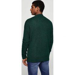 Mango Man - Sweter Sporty. Czarne swetry klasyczne męskie Mango Man, l, z dzianiny. W wyprzedaży za 99,90 zł.