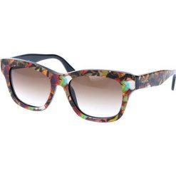 """Okulary przeciwsłoneczne damskie: Okulary przeciwsłoneczne """"V720SB"""" ze wzorem"""