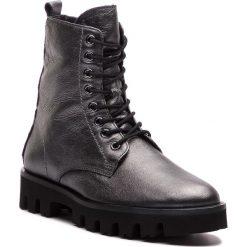 Trapery HÖGL - 6-102611 Antrazit 6200. Czarne buty zimowe damskie marki HÖGL, z materiału. W wyprzedaży za 489,00 zł.
