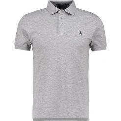 Polo Ralph Lauren SLIM FIT Koszulka polo andover heather. Szare koszulki polo marki Polo Ralph Lauren, m, z bawełny. Za 459,00 zł.