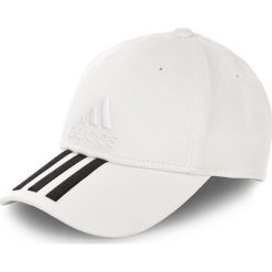 Czapka adidas - 6P 3S Cap Cotto BK0806 White/White/Black. Białe czapki damskie marki Adidas, z bawełny. Za 79,00 zł.