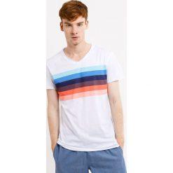 Męski T-shirt MF Rainbow. Szare t-shirty męskie Astratex, m, w kolorowe wzory, z bawełny. Za 49,99 zł.