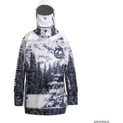 SOFTSHELL Alaska damska kurtka snowboardowa. Czarne bluzy męskie rozpinane marki Pakamera, m, z dresówki, z kapturem. Za 539,00 zł.