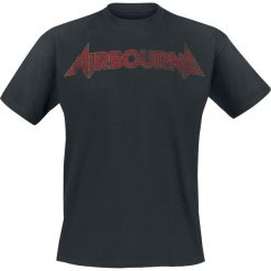 T-shirty męskie: Airbourne Cracked Logo T-Shirt czarny