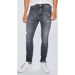 Calvin Klein Jeans - Jeansy 016. Szare jeansy męskie skinny marki Calvin Klein Jeans, z bawełny. Za 539,90 zł.