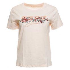 Pepe Jeans T-Shirt Damski Pepa S Łososiowy. Czerwone t-shirty damskie Pepe Jeans, s, z nadrukiem, z jeansu. Za 169,00 zł.