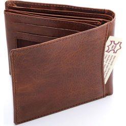 Portfel męski Harold`s - skóra bawola. Brązowe portfele męskie Harold's, ze skóry. Za 69,00 zł.